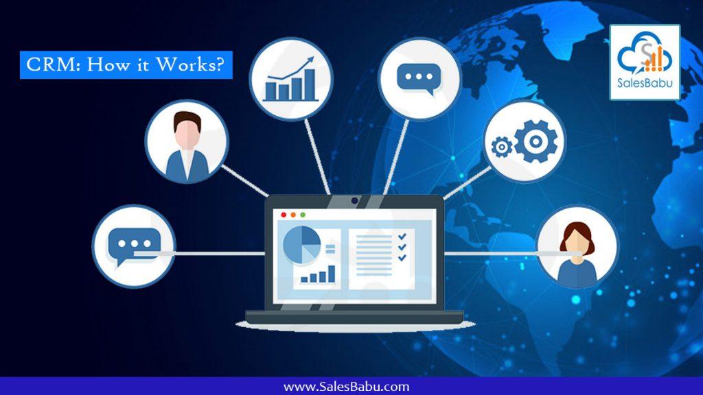 CRM How it works : SalesBabu.com