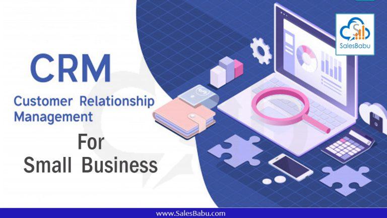 CRM for small business : SalesBabu.com