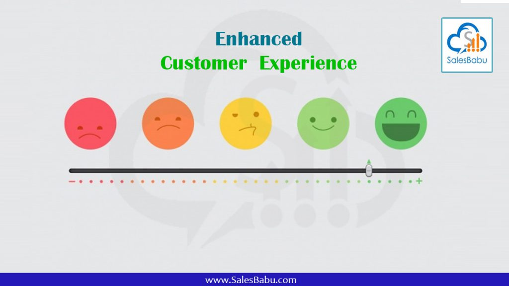 Enhanced customer experience : SalesBabu.com