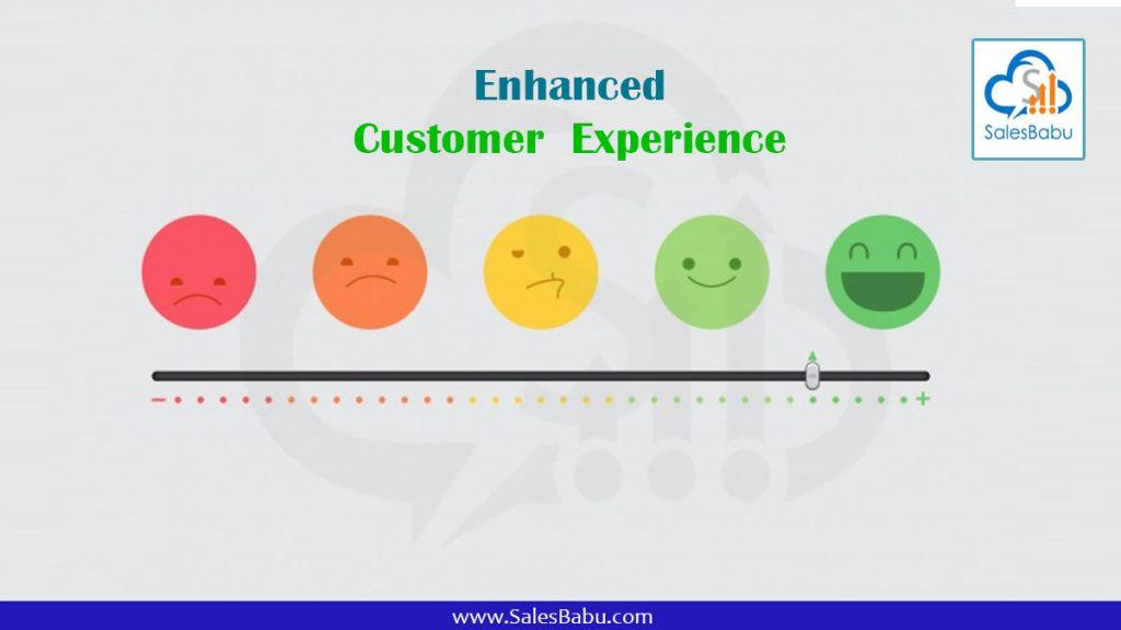 Enhanced customer experience : SalesBabu.com
