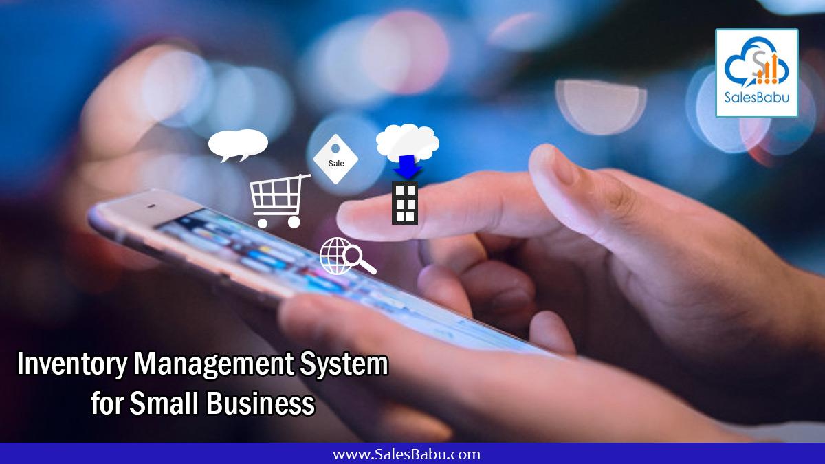 Inventory Management Software : SalesBabu.com