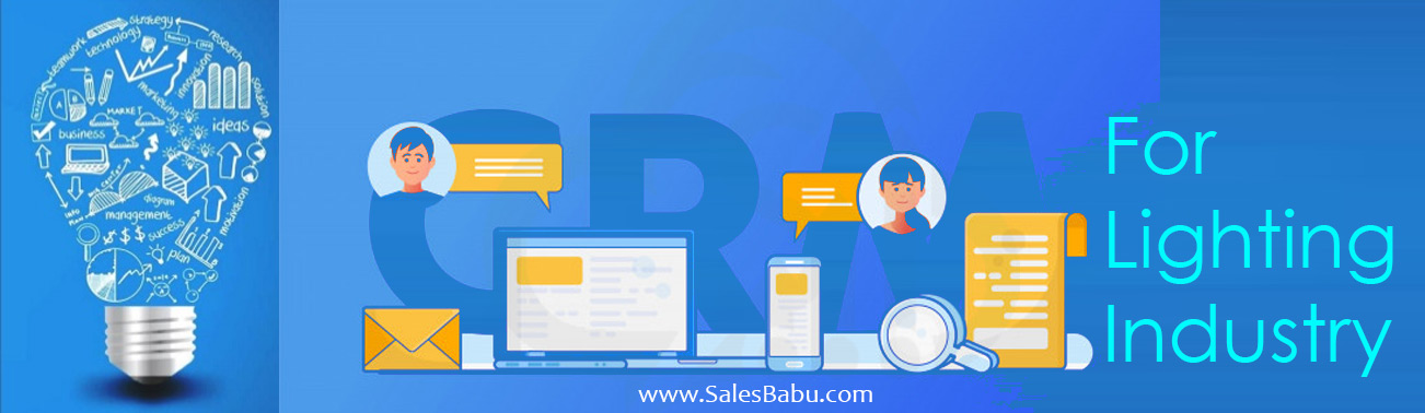 CRM for Lighting Industry : SalesBabu.com