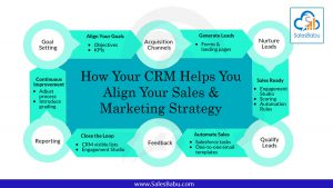 How Your CRM Helps You Align Your Sales & Marketing Strategy : SalesBabu.com