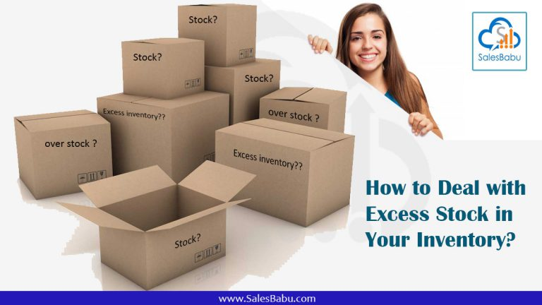 How to Deal with Excess Stock in Your Inventory : SalesBabu.com
