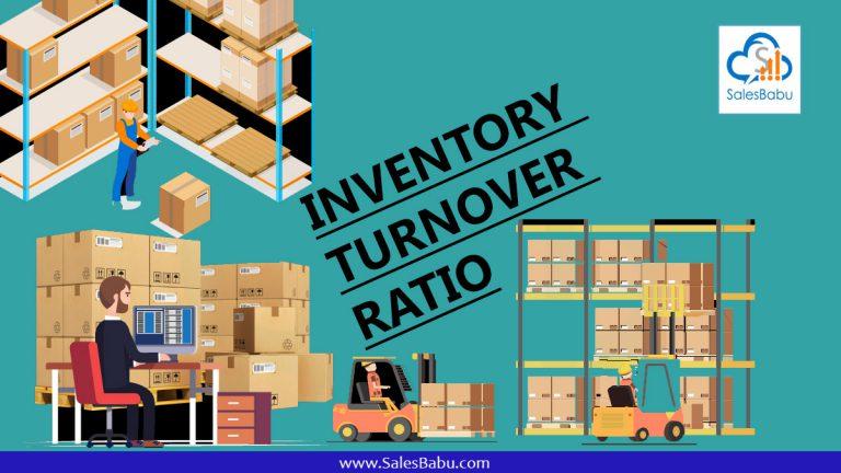 Inventory trunover raito : SalesBabu.com