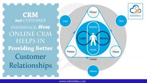 CRM And Customer Experience: How Online CRM Helps In Providing Better Customer Relationships : SalesBabu.com