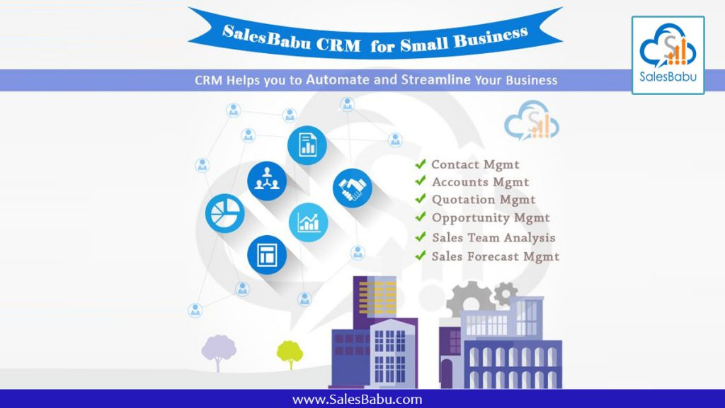 SalesBabu CRM for small businesses