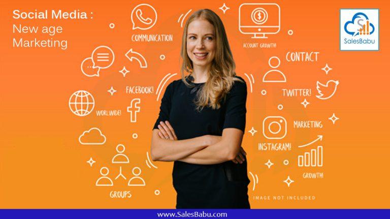 Social Media - New age Marketing :SalesBabu.com