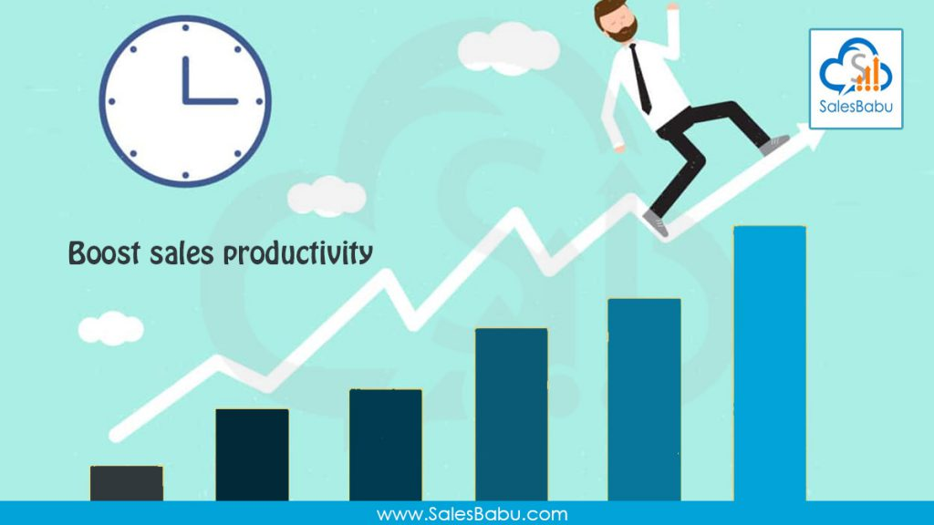 Boost sales productivity