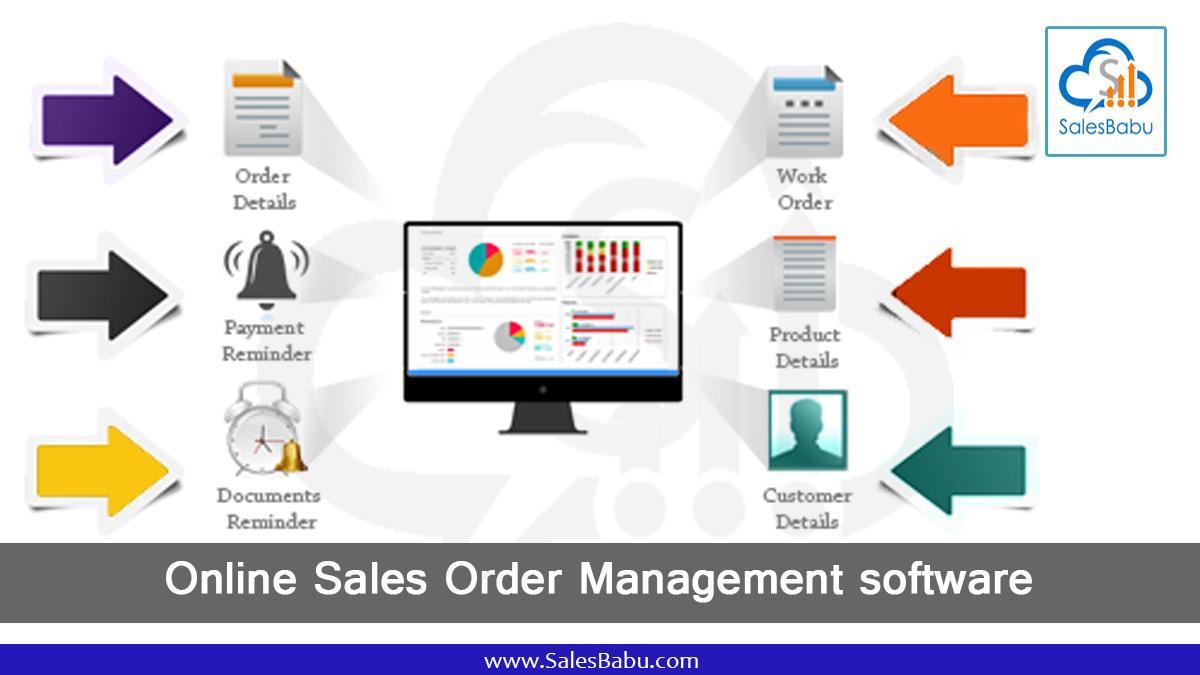Simple Online Sales Order Management Software
