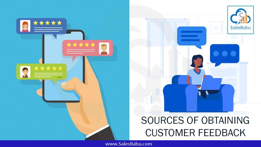 sources of obtaining customer feedback