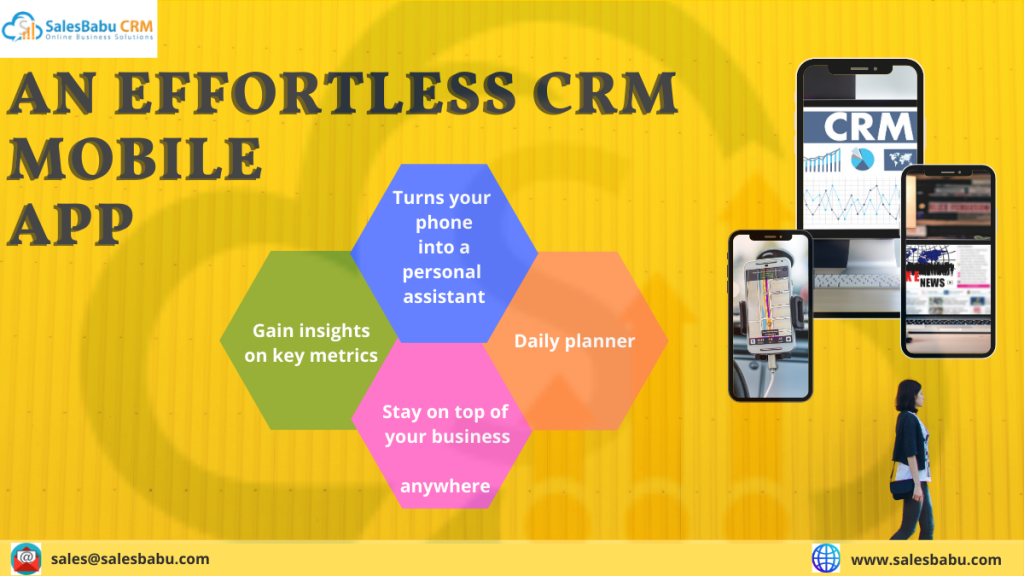 An effortless CRM mobile app