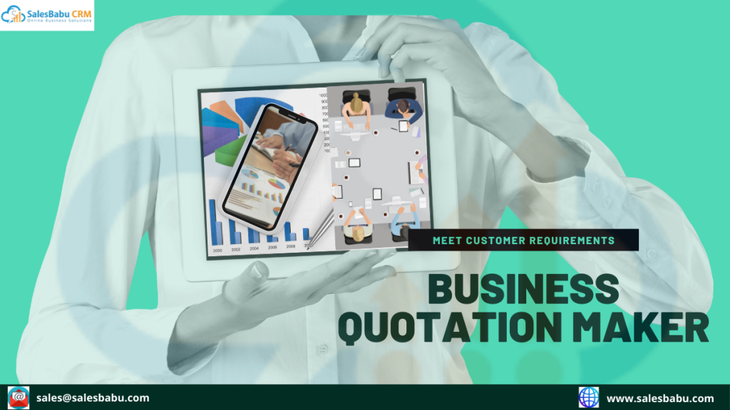 Online-  Business Quotation Maker| SalesBabu.com