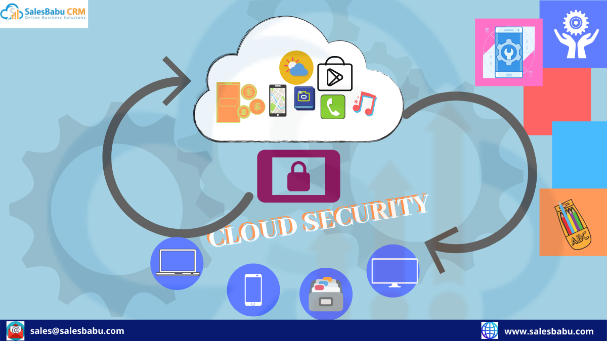 Get over your Cloud Security concerns| SalesBabu.com