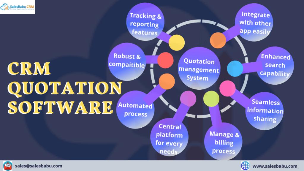 Cloud CRM Quotation Software