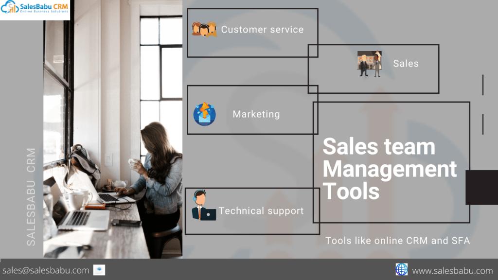 sales team management tools