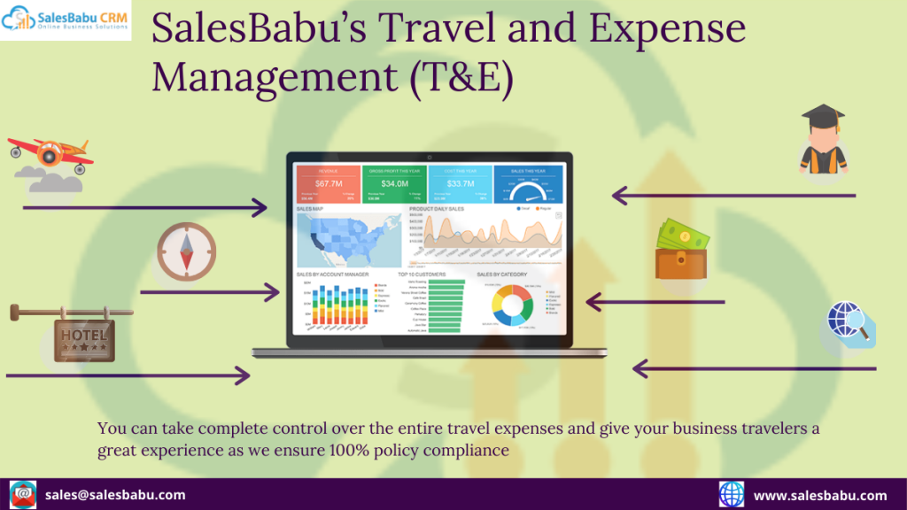 SalesBabu's Travel and Expense Management (T&E)