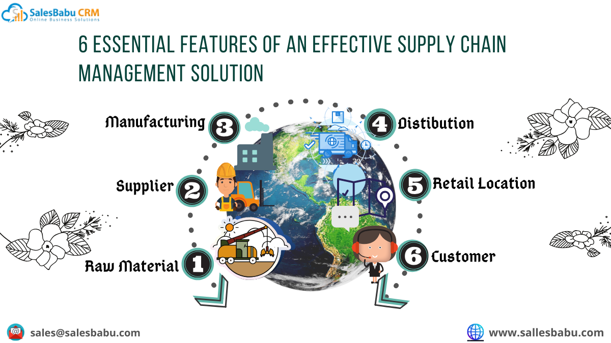 8 essential features of an effective supply chain management solution