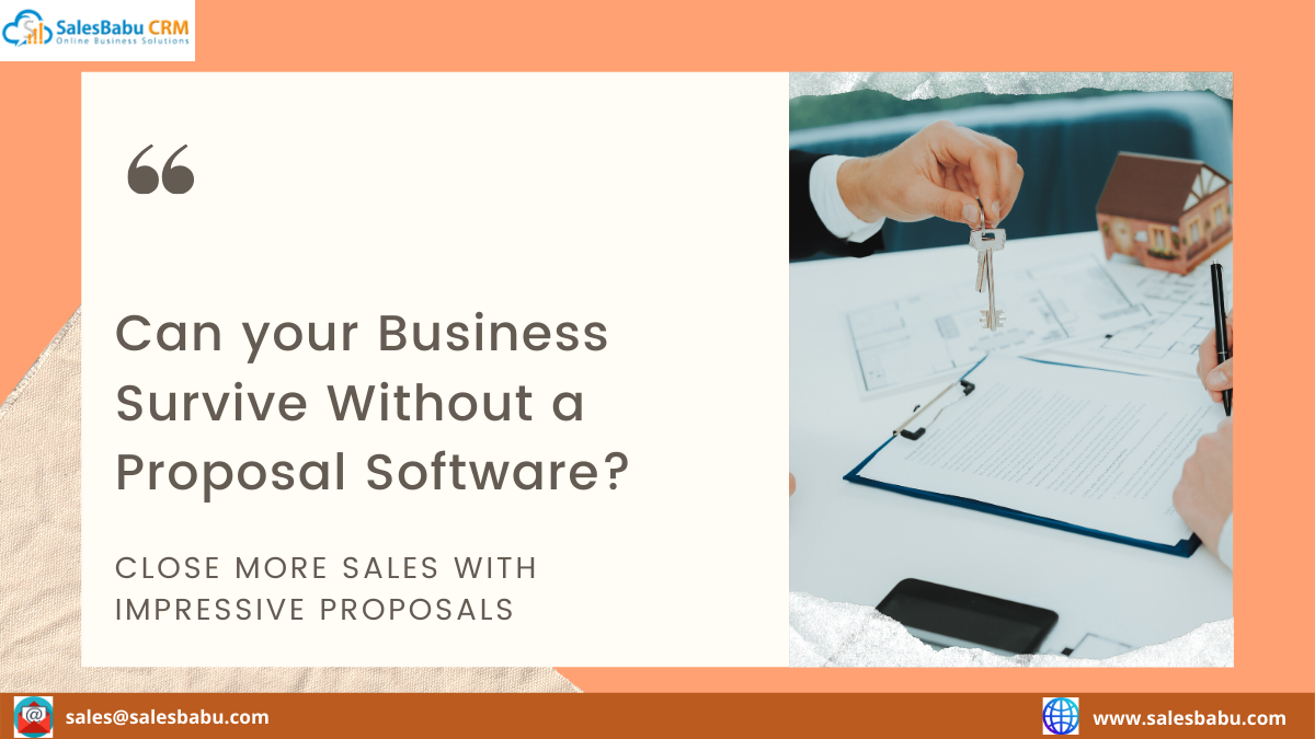 Can your Business Survive Without a Proposal Software