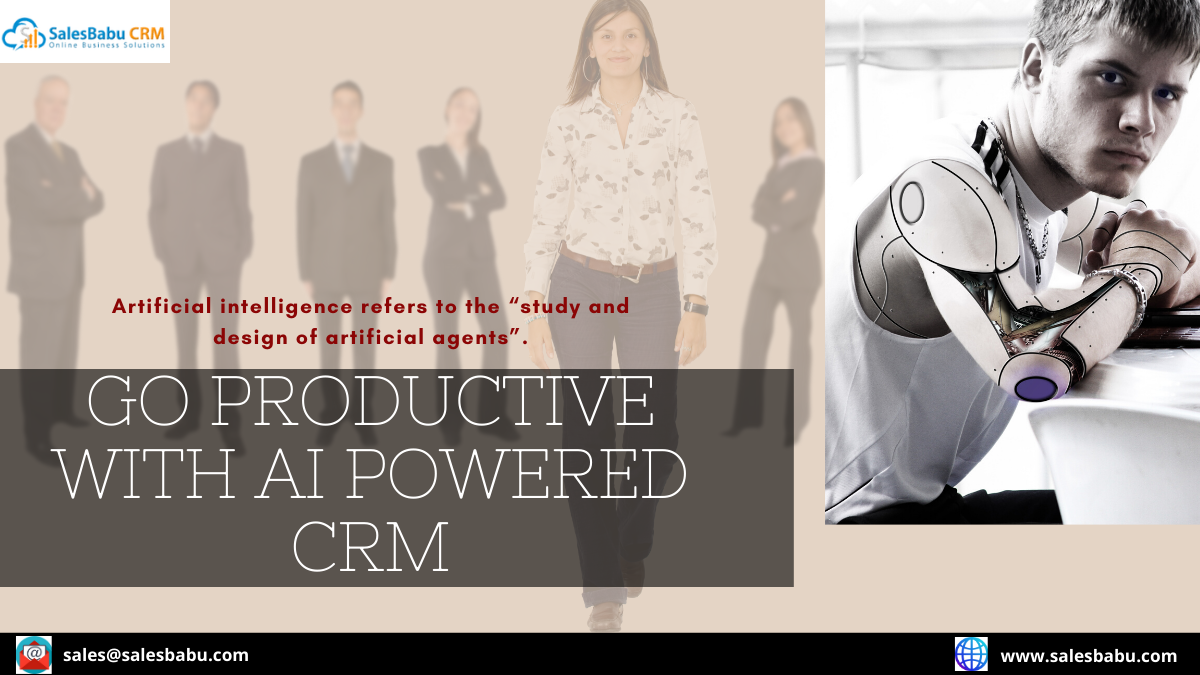 Improve sales intelligence by combining your CRM with AI