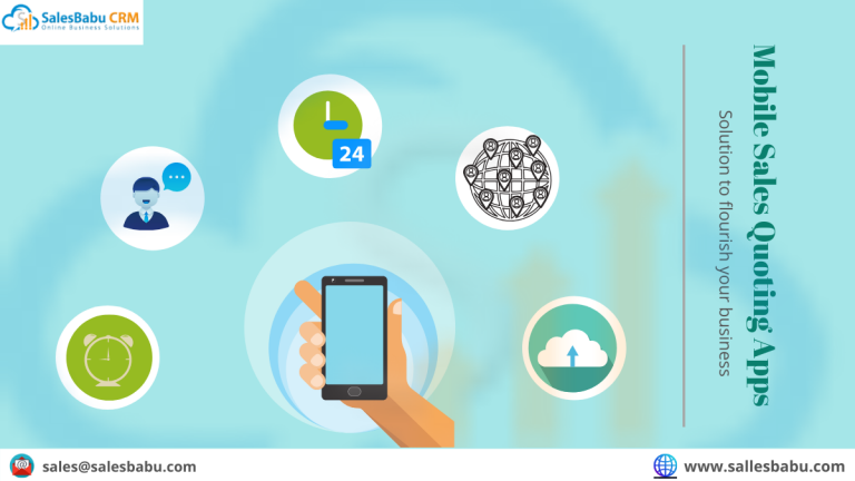 Mobile Sales Quoting App