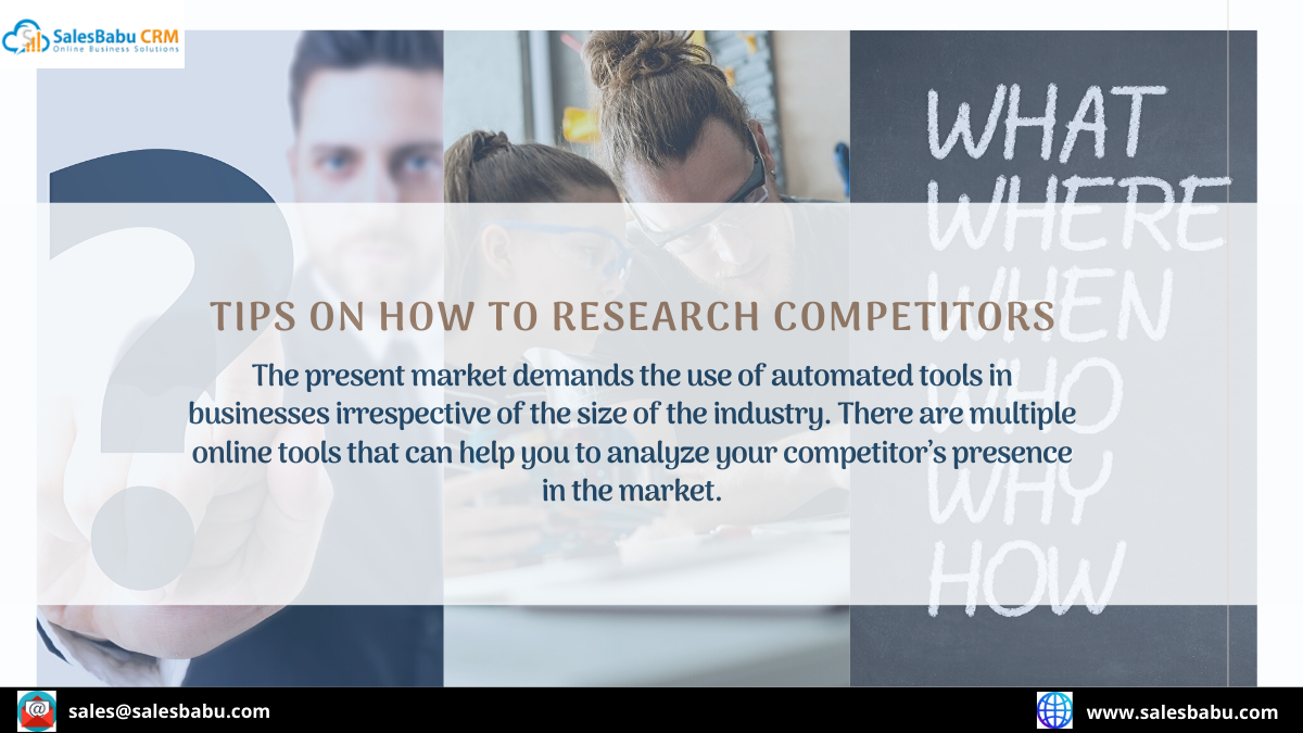 Tips on how to research competitors
