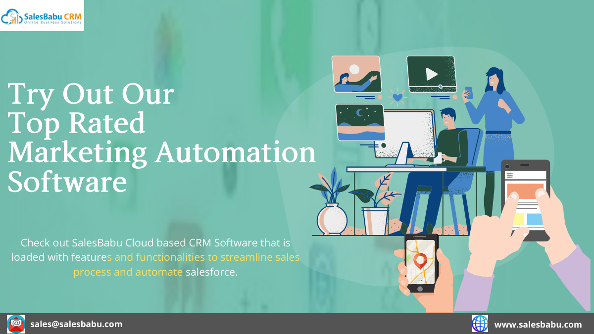 Try out our top rated Marketing Automation Software