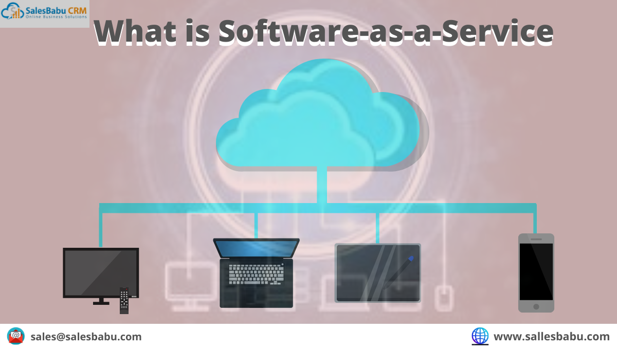 What is Software-as-a-Service