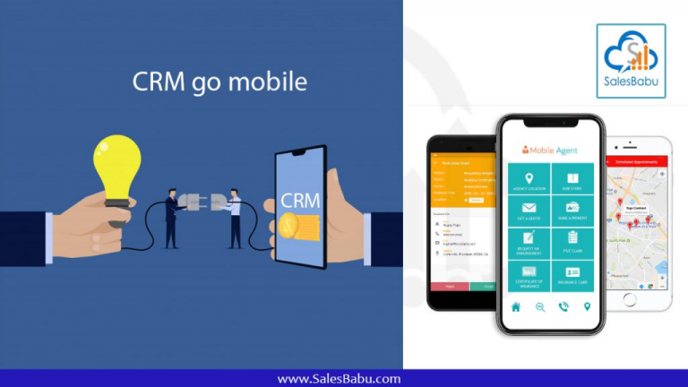 Why use mobile CRM for sales?