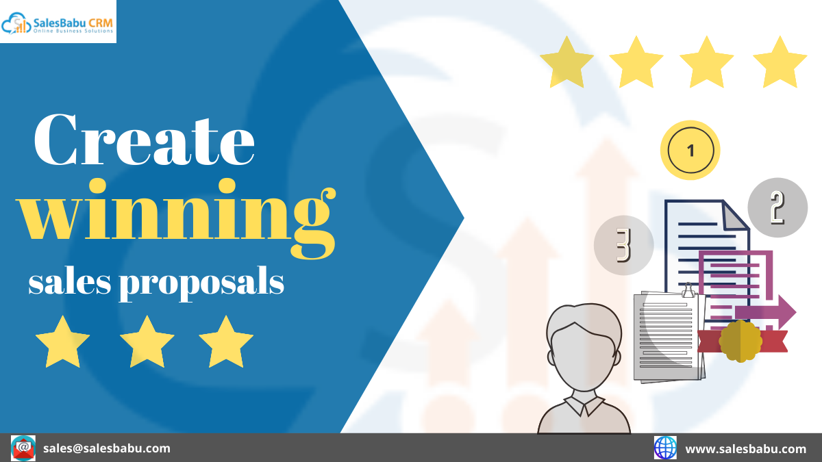 Create winning sales proposals