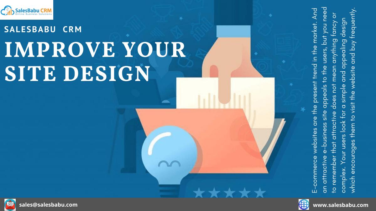 improve your site design
