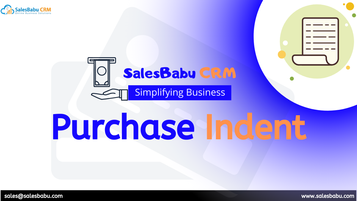 purchase indent