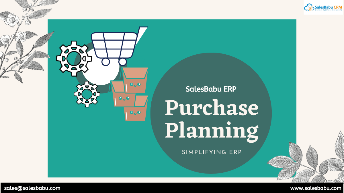 purchase planning