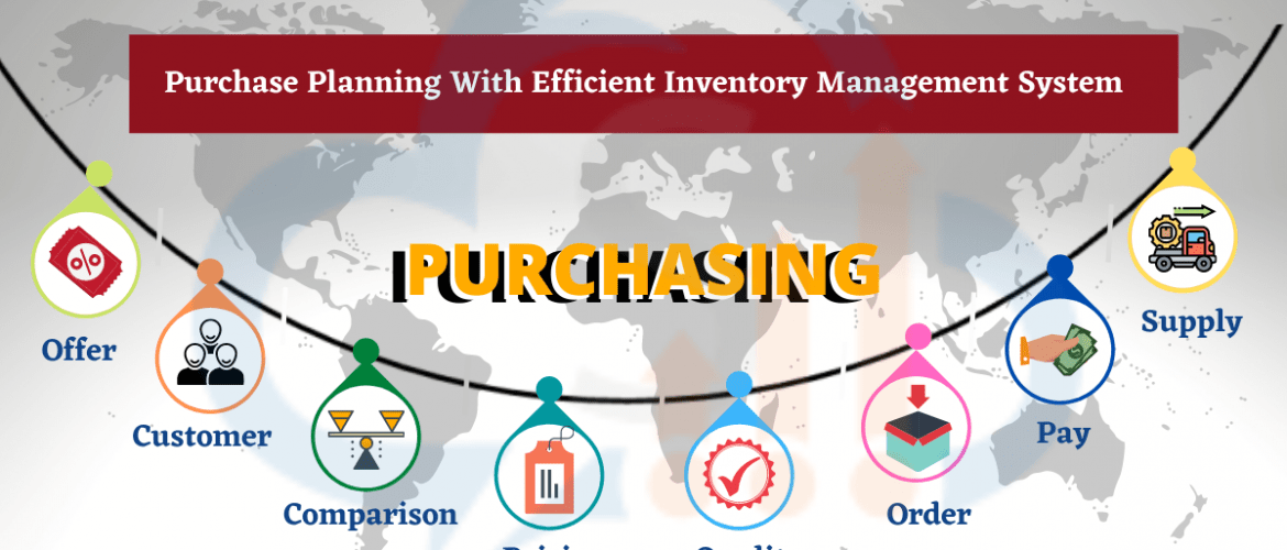 Purchase planning with Inventory Software