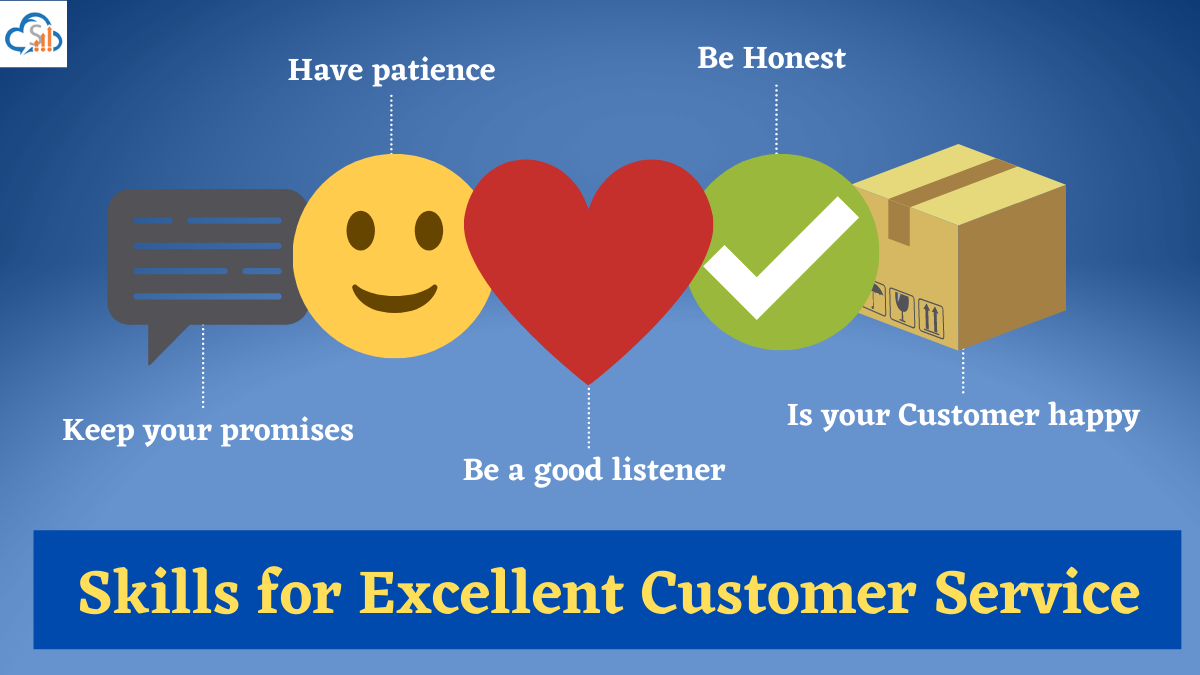 Excellent Customer Service with online customer management system