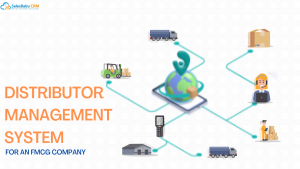 Online Distributor Management System