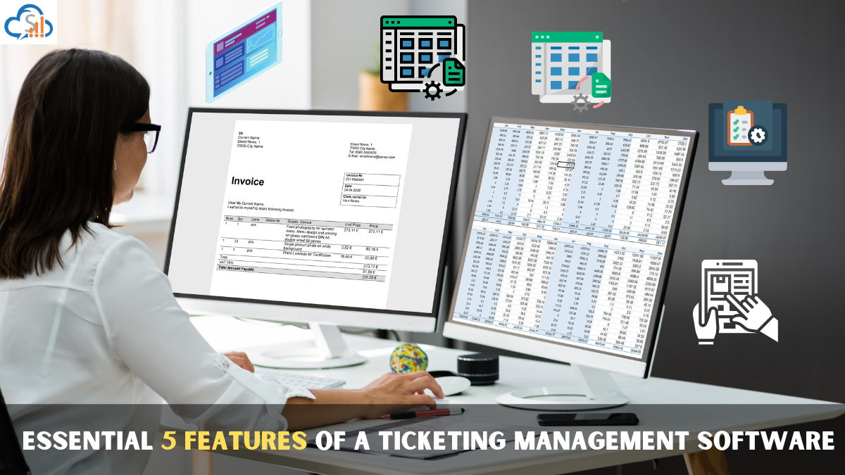 Ticketing software with its 5 Essential features