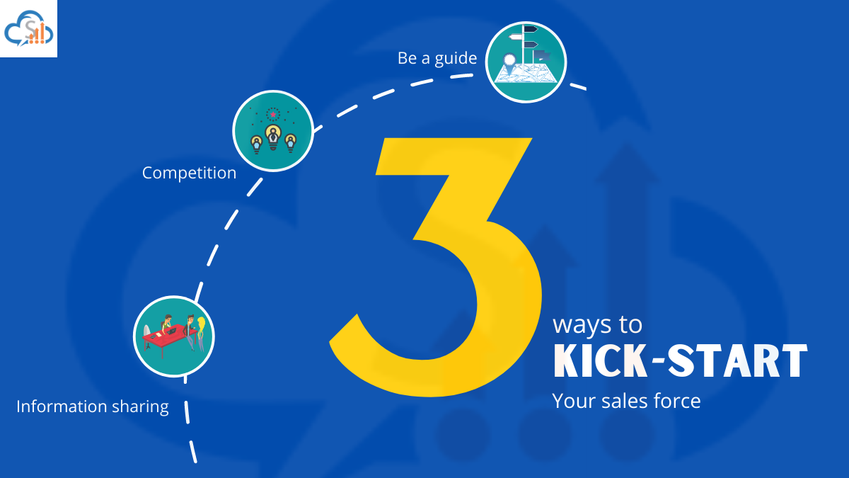 Three ways to kick-start your sales force