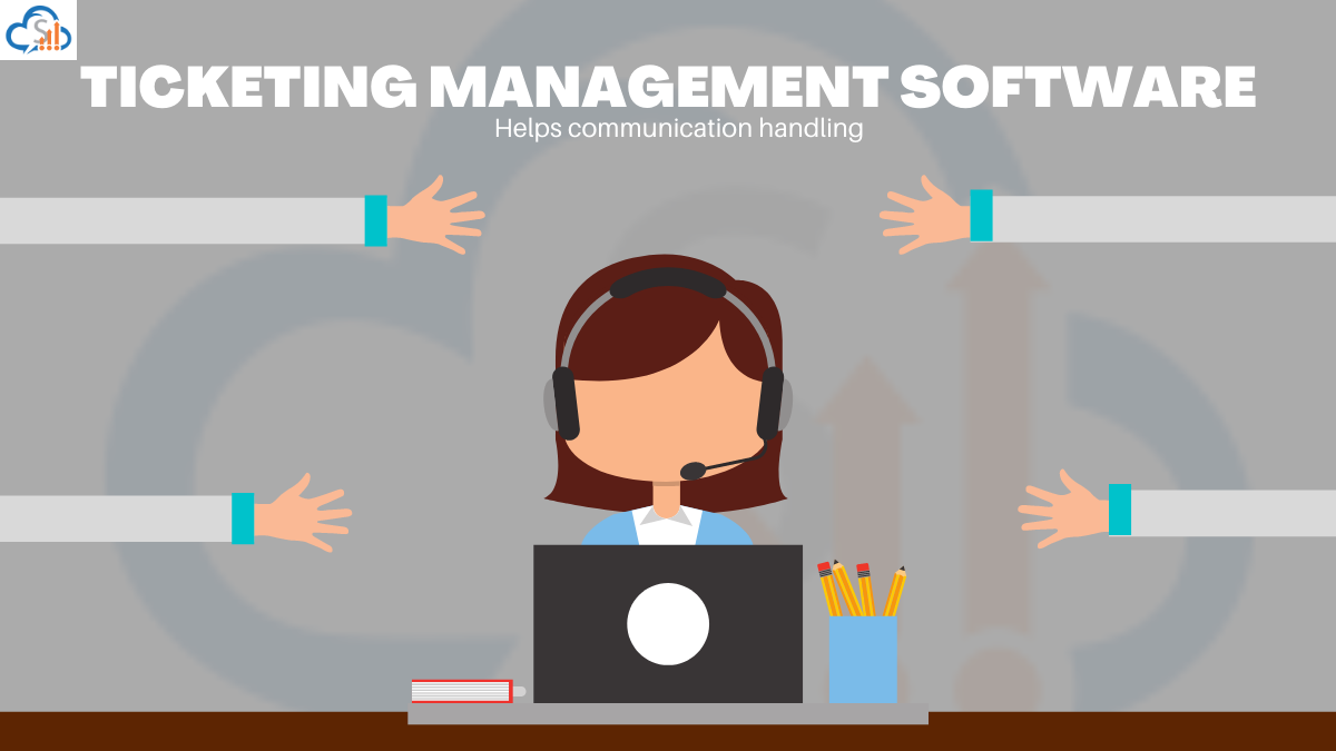Communication handling with ticketing software