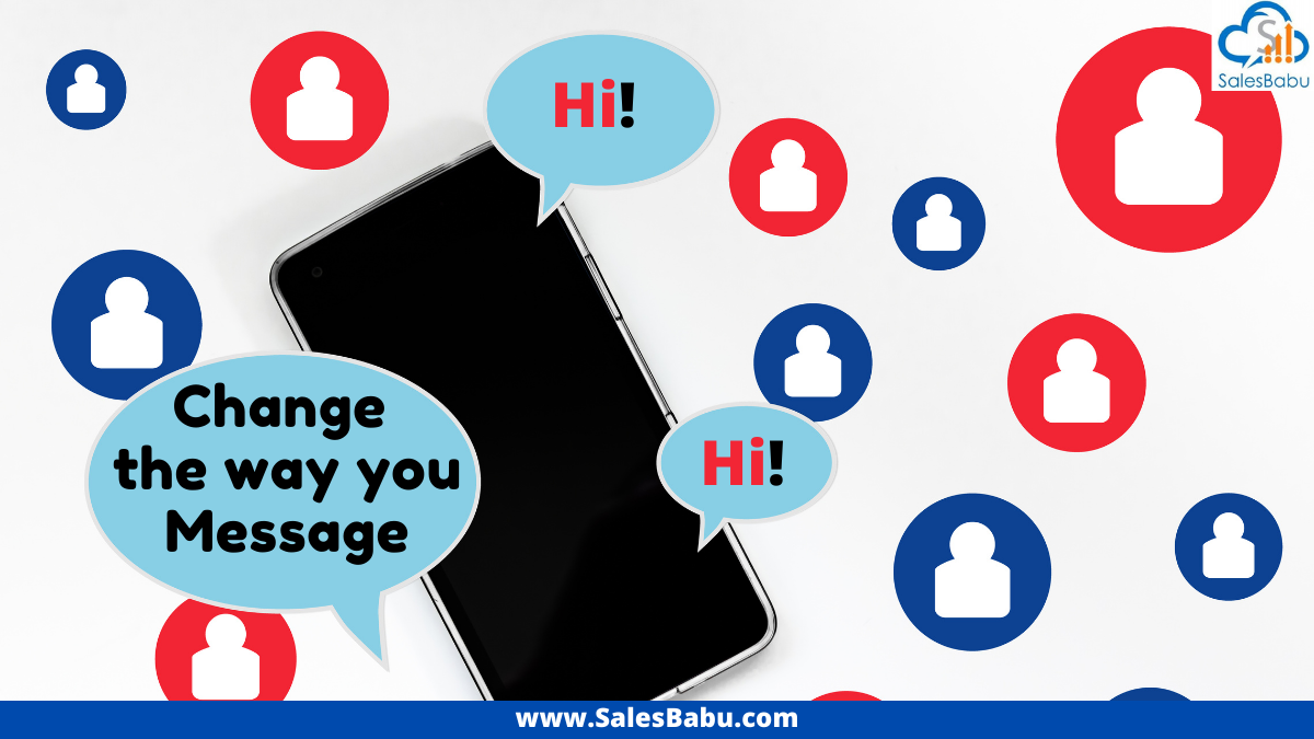 Different ways to message