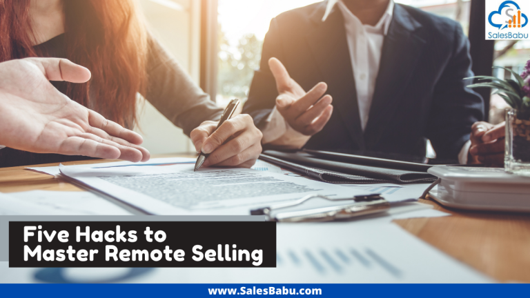 Hacks to Master Remote Selling
