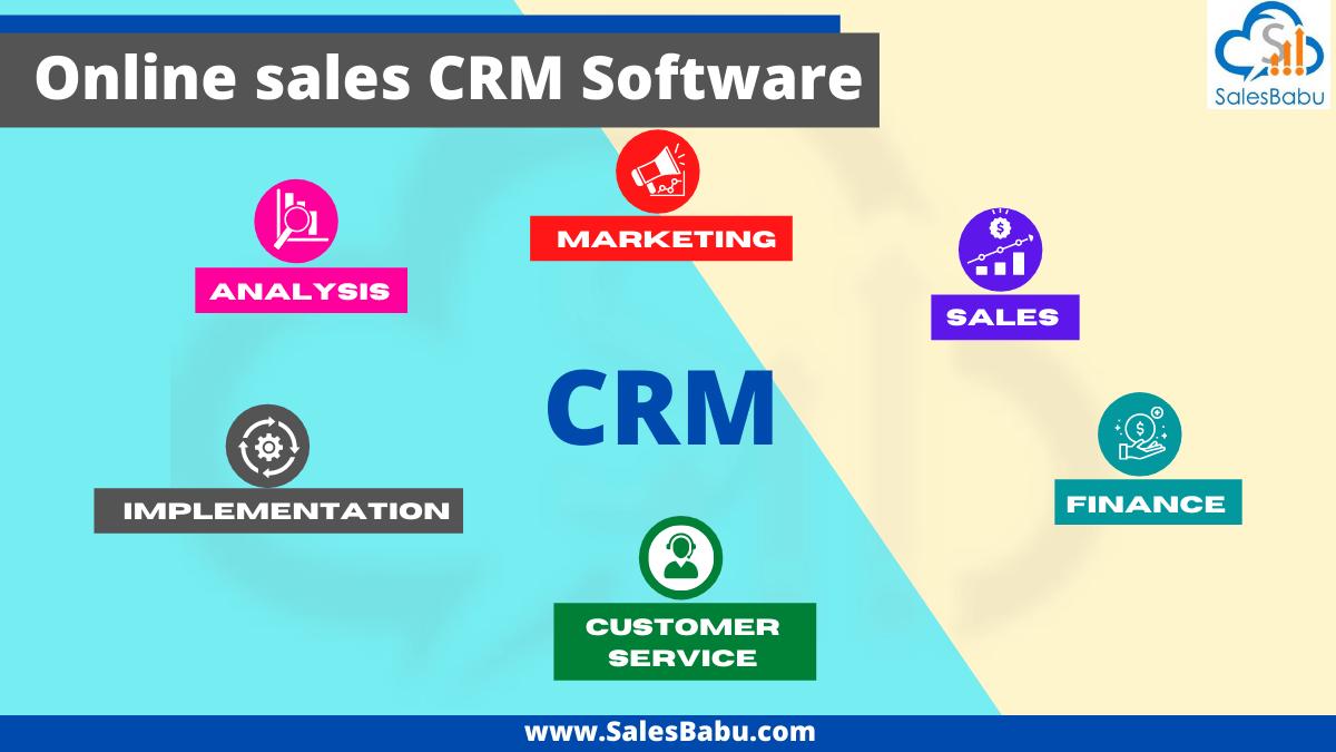 Online sales CRM software for better teamwork