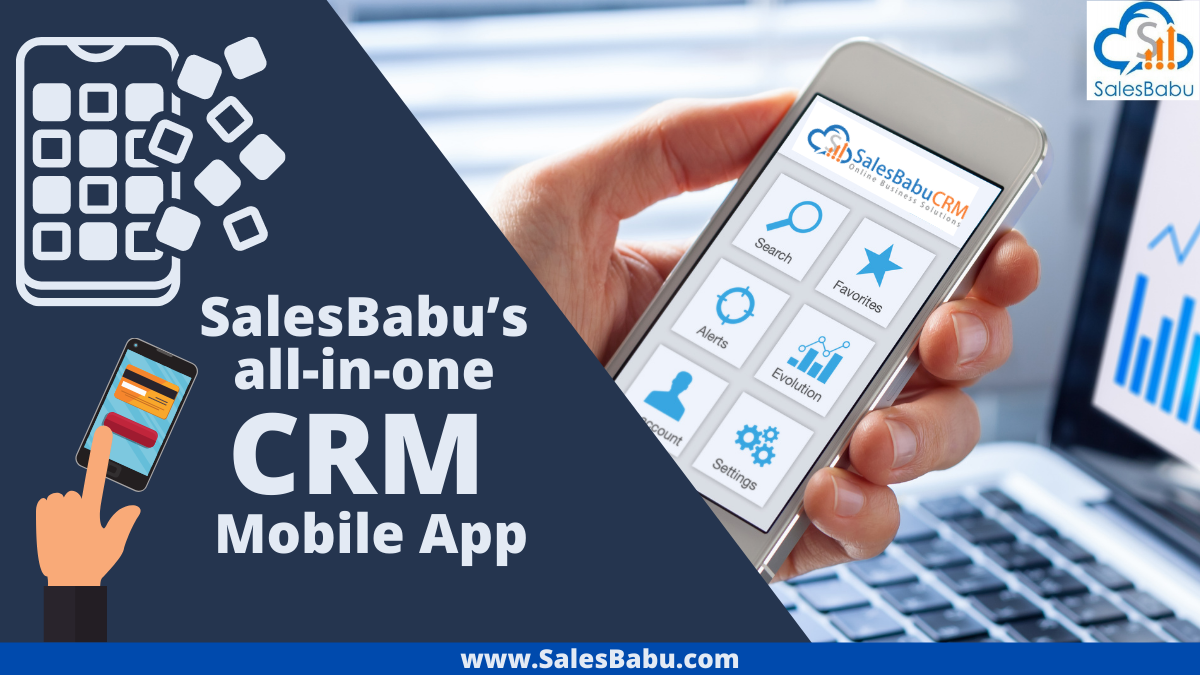 All-in-one CRM mobile app