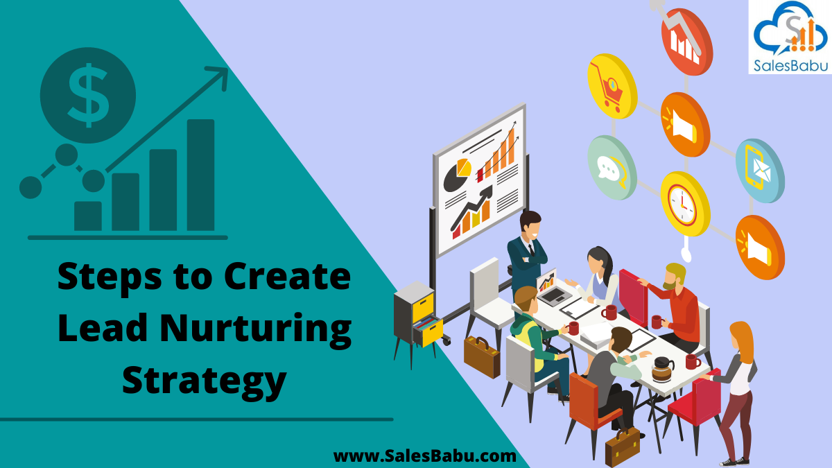 The steps for creating a lead nurturing strategy