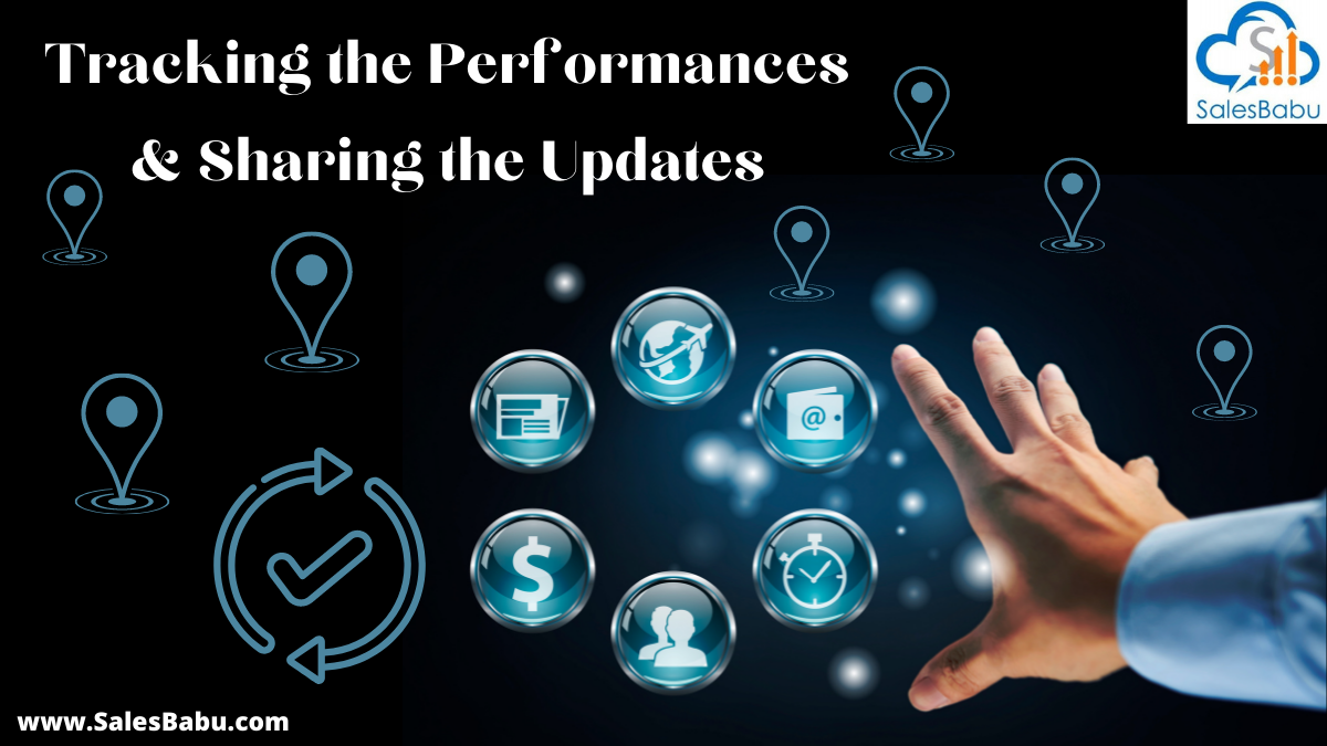 Tracking performances and sharing updates