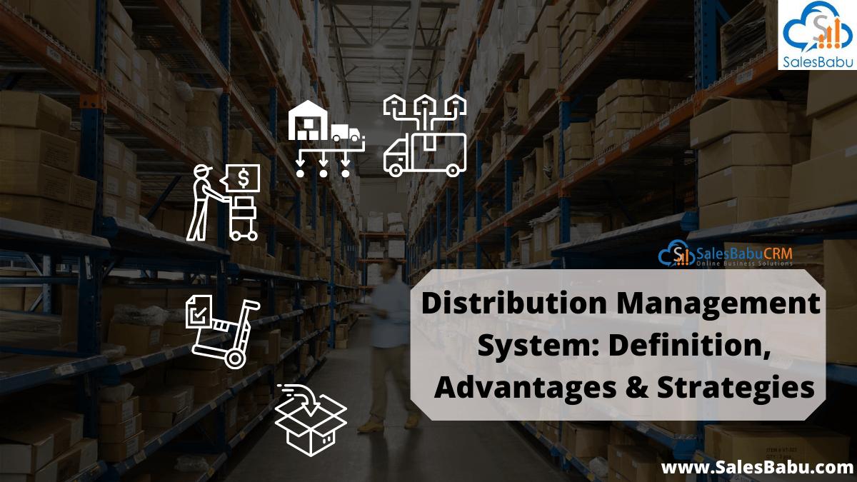 Cloud Based Distribution Management System