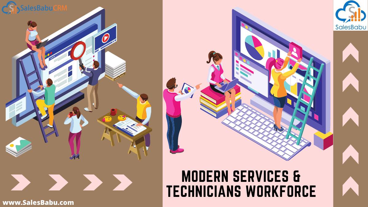 Modern service technician workforce